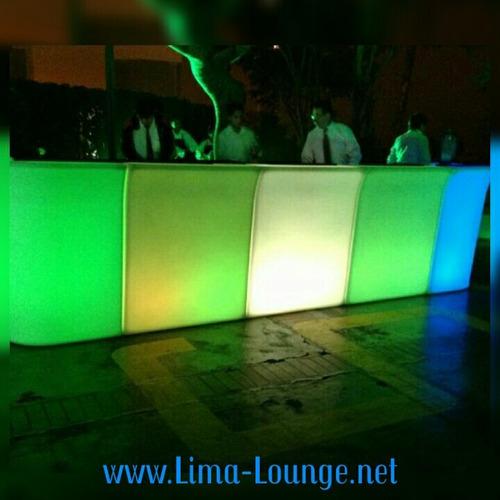 alquiler de sonido luces dj, pistas de baile led, puf led