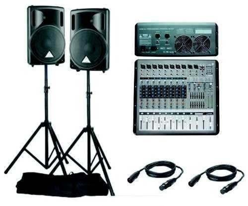 alquiler de sonido luces y dj a solo  220 soles
