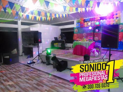 alquiler de sonido, luces y fx especiales en villavicencio.