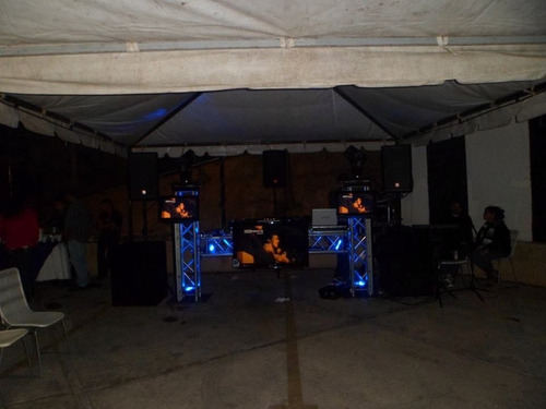 alquiler de sonido, miniteca, karaoke, dj, luces, animacion.
