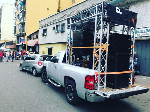 alquiler de sonido perifoneo sonido en camión movil