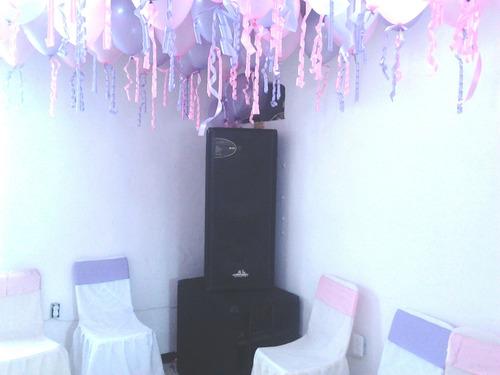 alquiler de sonido profesional para fiesta infantiles