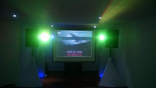 alquiler de sonido y luces bogota neon dj animador humo neón