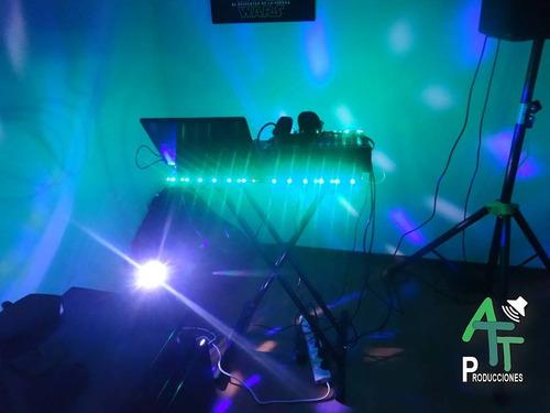 alquiler de sonido y luces, dj con equipo de sonido