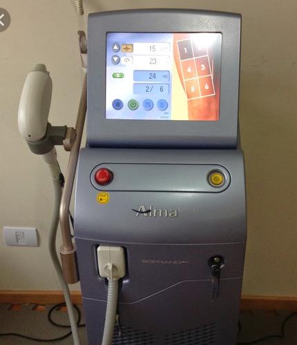 alquiler de soprano xl 3g depilacion definitiva laser
