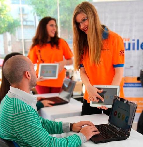 alquiler de tablets - notebooks - computadoras  - rotafolios