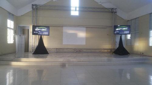 alquiler de televisores lcd para inaguraciones y eventos