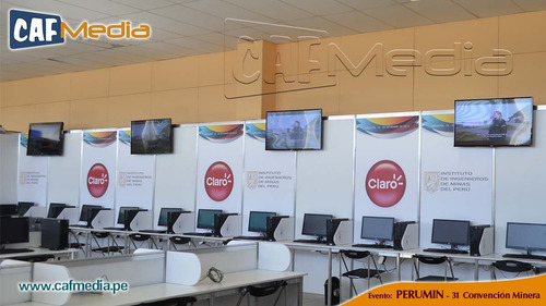 alquiler de televisores led 55, 47, 42 pulgs, stand lima