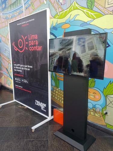 alquiler de televisores  pantallas led lcd de 50,65¨,75 80
