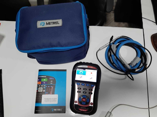alquiler de telurometro, megohmetro y analizador de redes.