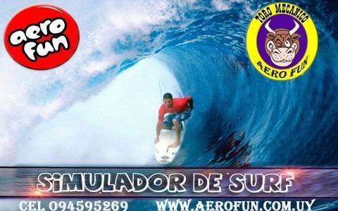 alquiler de toro mecánico, s.surf, c.elástica, c.inflables