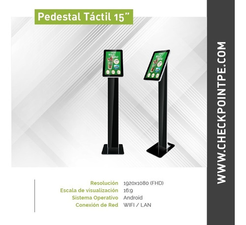 alquiler de totem táctil, pantallas touch, monitores táctil