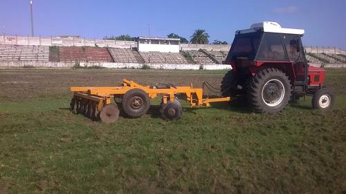 alquiler de tractor y retro, limpieza de terrenos
