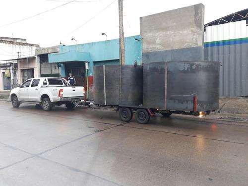 alquiler de trailers traslados auxilio d/autos motos mudanza