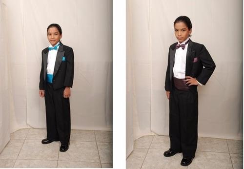 alquiler de trajes para caballeros y niños