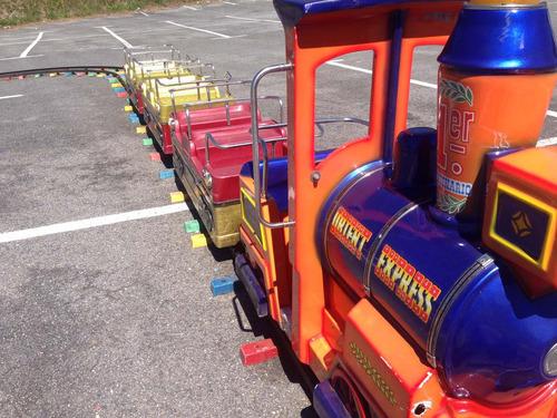 alquiler de tren eléctrico infantil.... para tus fiestas