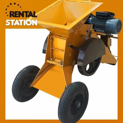 alquiler de trituradora de cascotes! rental station!