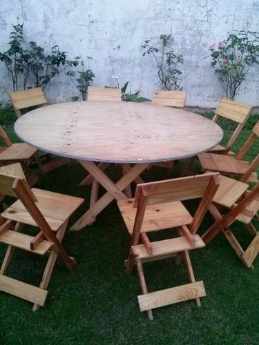 alquiler de vajilla manteleria mesas y sillas en tigre.