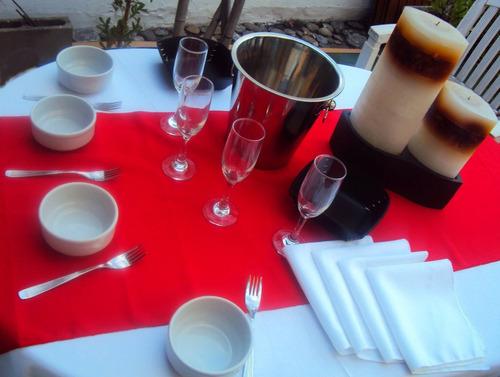 alquiler  de vajilla,manteleria,vasos,cubiertos,para eventos