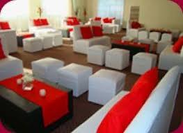 alquiler de vajillas, manteleria, mesas, sillas y living