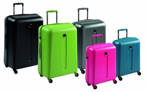 alquiler de valijas premium delsey ahorra dinero y espacio!!