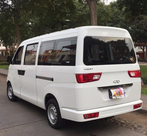 alquiler de van 11 asientos ful a gnv