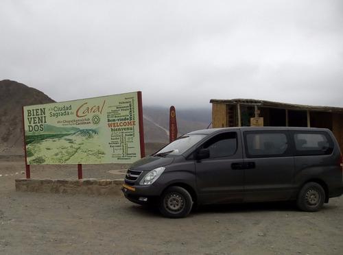 alquiler de van h1 serv. de transporte turístico
