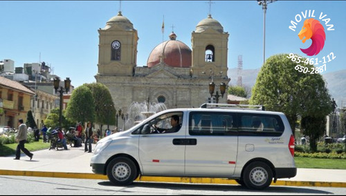 alquiler de vans para turismo y transporte de personal