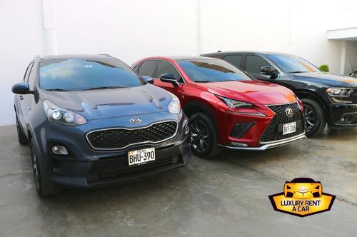 alquiler de vehículos exclusivos, autos, camionetas del año!