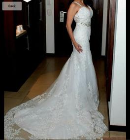 b6ce16ead43 Alquiler Vestido De Novia - Vestidos de Mujer De Novia en Mercado ...