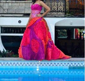 3f520a192 Vestido De Quinceañera Tipo Princesa en Mercado Libre Perú