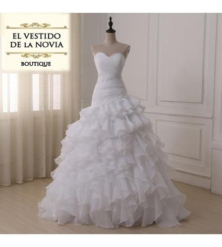 alquiler de vestido novia  sirena