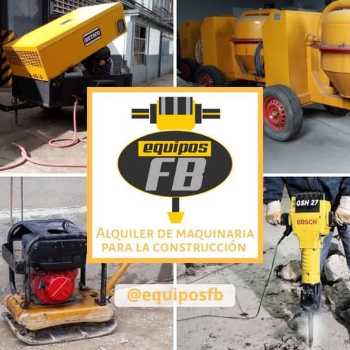 alquiler de vibrador de concreto equipos fb
