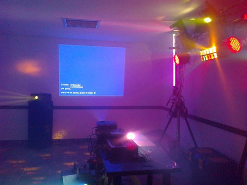 alquiler de video beam para todo tipo de eventos