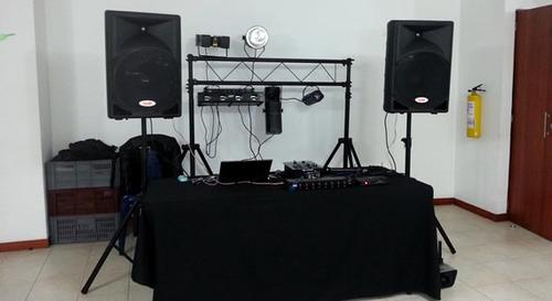 alquiler de video beam y sonido para eventos