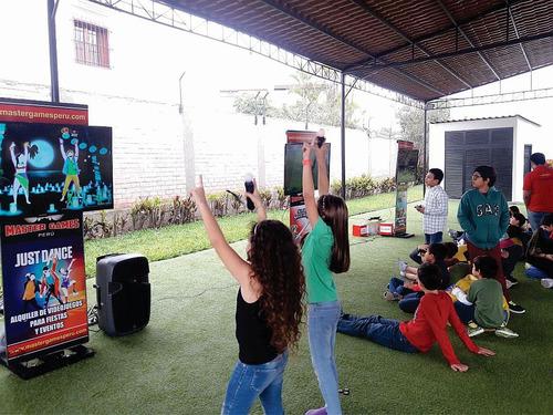 alquiler de videojuegos, juegos y más para fiestas y eventos