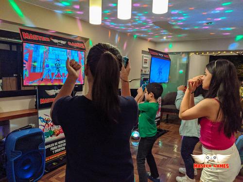 alquiler de videojuegos para fiestas y eventos