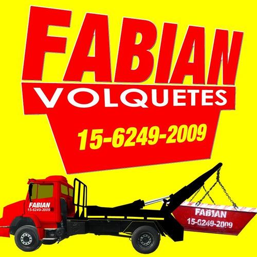 alquiler de volquetes- 4635-7571 mataderos $ 1600