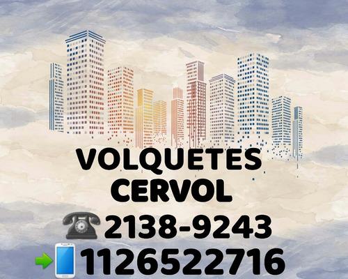 alquiler de volquetes en caba 2138-9243