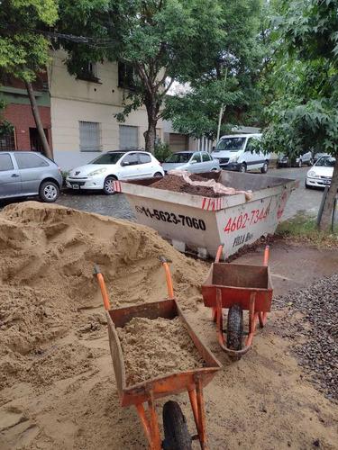 alquiler de volquetes en villa sarmiento, haedo, caseros