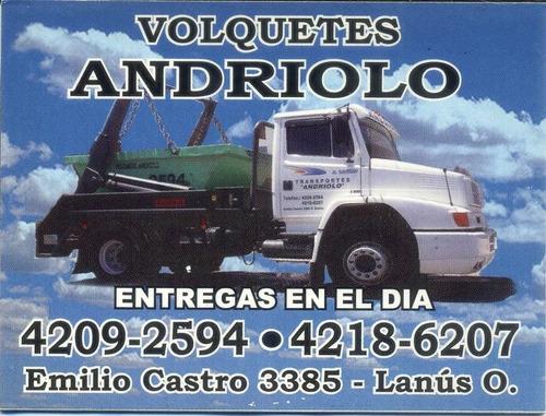 alquiler de volquetes - lanus/avellaneda/l.de zamora/gerli -