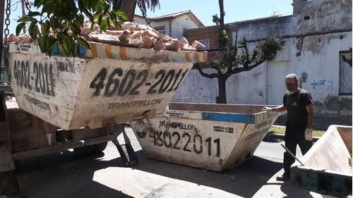 alquiler de volquetes liniers, villa luro,floresta 4602-2011
