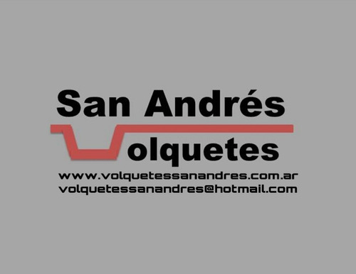 alquiler de volquetes san martín/villa ballester/zona norte