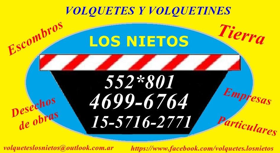 Alquiler De Volquetes Y Volquetines Zona Oeste Los Nietos