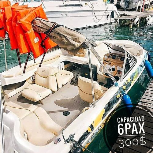 alquiler de yates y lanchas en tucacas con capitan @qboats