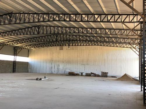 alquiler dentro de parque industrial desarrollo productivo, moreno - deposito de 1200mts. cubiertos