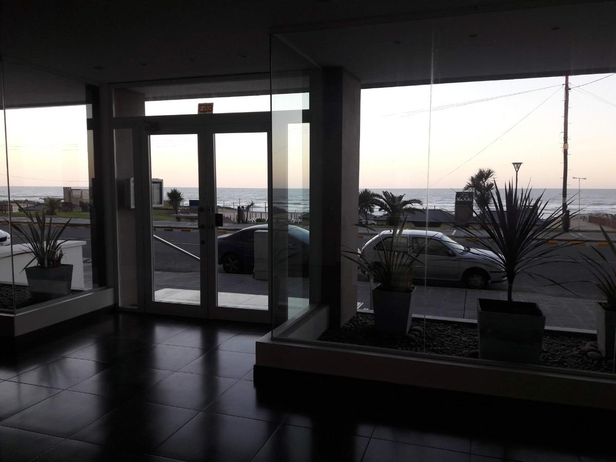 alquiler departamento 1 ambiente cochera miramar mar balcón