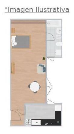alquiler departamento 2 ambientes almagro subte b est. angel gallardo