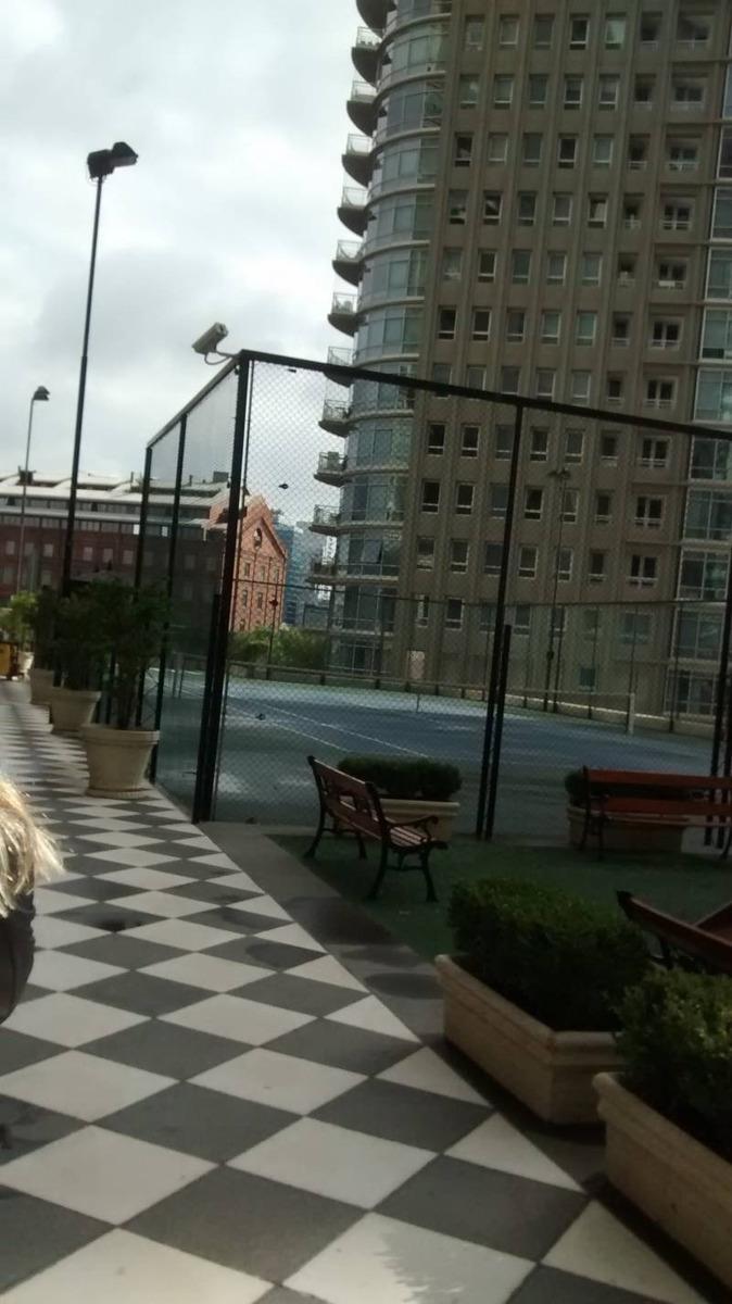 alquiler departamento 2 ambientes + cochera  puerto madero