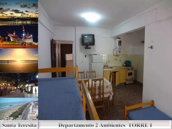 alquiler departamento en santa teresita  - calle 39 nº 538